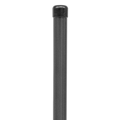 zaunpfosten anthrazit metallic 122 5 cm kaufen bei obi. Black Bedroom Furniture Sets. Home Design Ideas