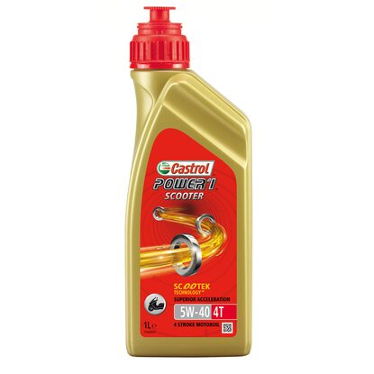Castrol Power 1 Scooter 4T 5W-40 1 l