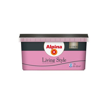 Alpina LivingStyle Happy Pink  1 l