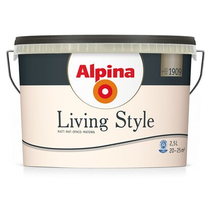 Alpina LivingStyle Tender Off-White 2,5 l