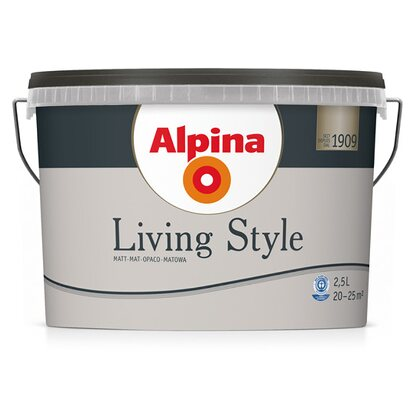 Alpina LivingStyle Warm Grey 2,5 l