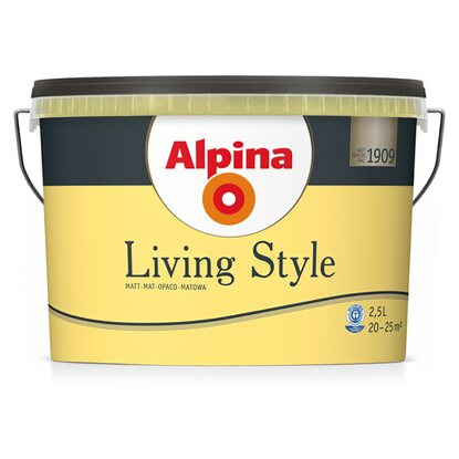 Alpina LivingStyle Sunny Yellow 2,5 l