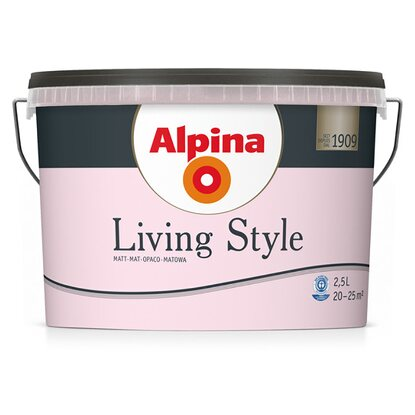 Alpina LivingStyle Soft Rose 2,5 l