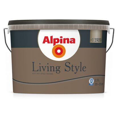 Alpina LivingStyle Earthy Brown 2,5 l
