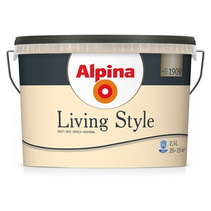Alpina LivingStyle Shiny Orange 2,5 l