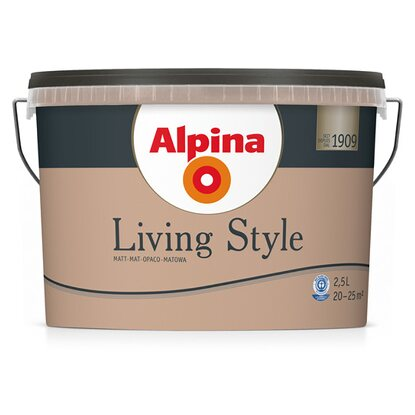 Alpina LivingStyle Elegant Brown 2,5 l