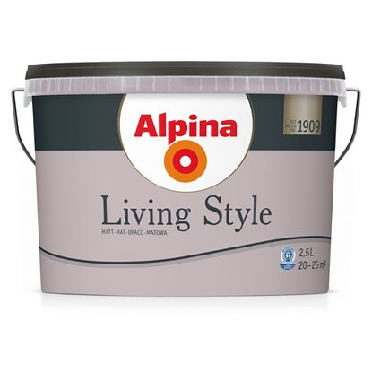 Alpina LivingStyle Lovely Violet 2,5 l