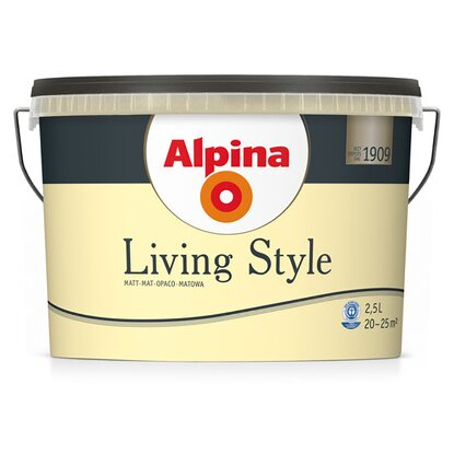 Alpina LivingStyle Pleasant Yellow 2,5 l