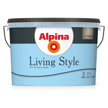 Alpina LivingStyle Happy Blue  2,5 l