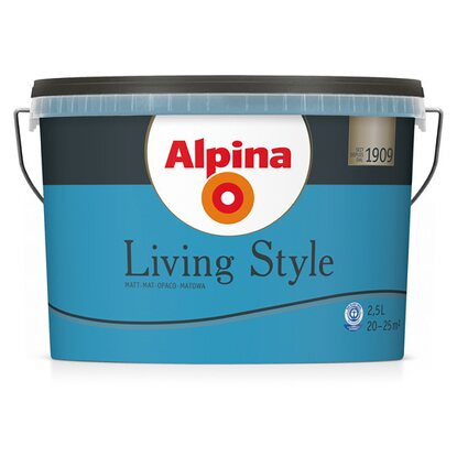 Alpina LivingStyle Wonderful Blue 2,5 l