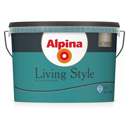 Alpina LivingStyle Strong Petrol 2,5 l