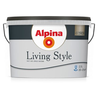 Alpina LivingStyle Cool Grey 2,5 l
