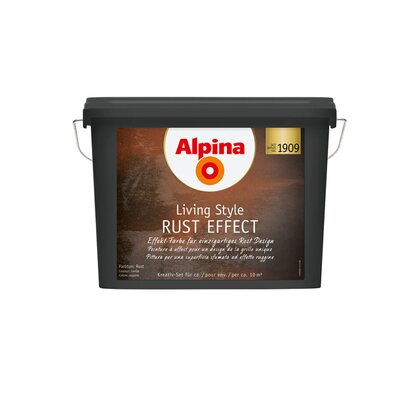 Alpina LivingStyle Rost Effect Set