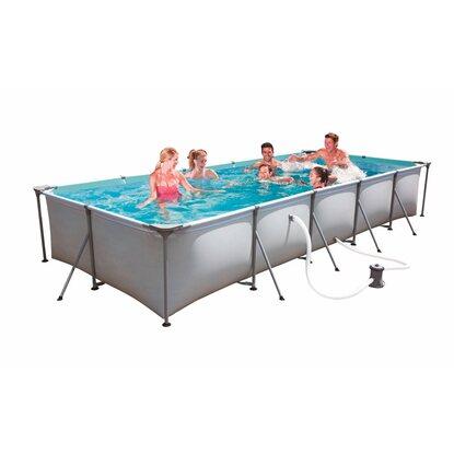 Bestway family splash frame pool set 495 cm x 211 cm x 81 for Obi filterpumpe