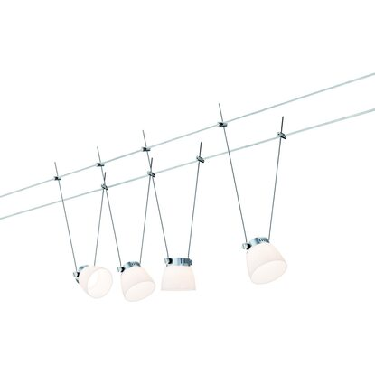 Paulmann Wire Systems LED-Seil-Set EEK: A+ IceLED II 4-flammig