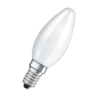 Osram LED-Lampe EEK: A++ Retrofit Kerzenform E14 / 3 W (250 lm) Warmweiss