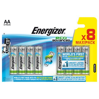 Energizer Eco Advanced Mignon Batterie AA 8 Stück