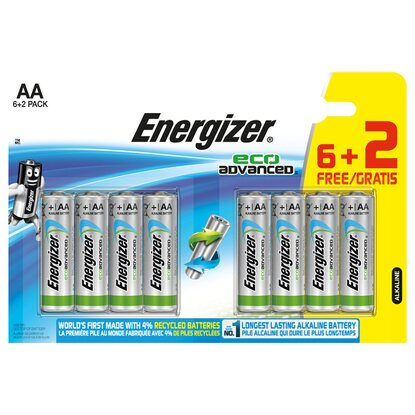 Energizer EcoAdvanced AA 8er-Blister