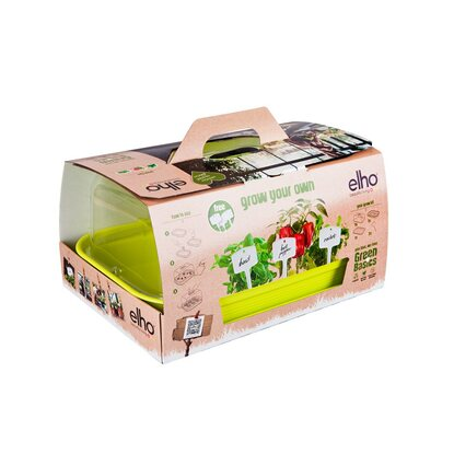Elho Green Basics all in 1 Grow Kit Grün