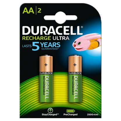 Duracell AA Recharge Ultra NiMH / HR6 2500 mAh
