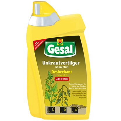 Gesal Unkrautvertilger Super-Rapid Konzentrat 500 ml