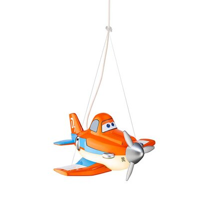 Philips LED-Pendelleuchte EEK: A++-A Disney Planes Orange