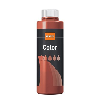 OBI Color Voll- und Abtönfarbe Bordeauxrot matt 500 ml