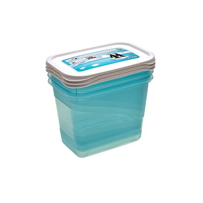 keeeper Tiefkühldose Mia Polar 1 l Ice Blue 3er-Set