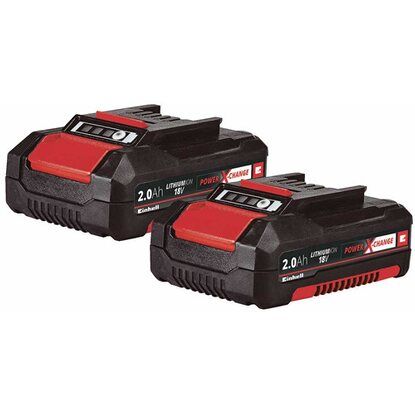 Einhell Twinpack 2er-Set 18V / 2,0 Ah Power X-Change