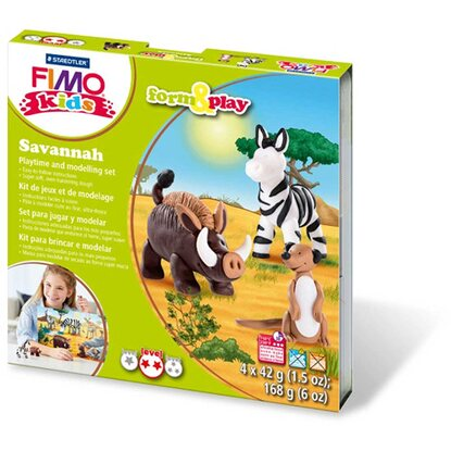 FIMO kids Modellier-Set Form&Play Savannah