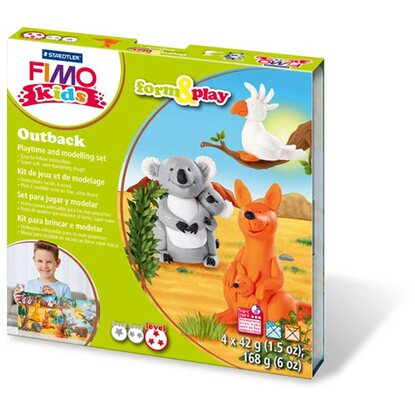 Fimo kids Modellier-Set Form&Play Outback