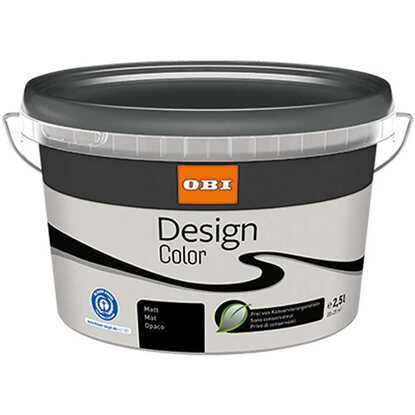 OBI Design Color matt Grey 2,5 l
