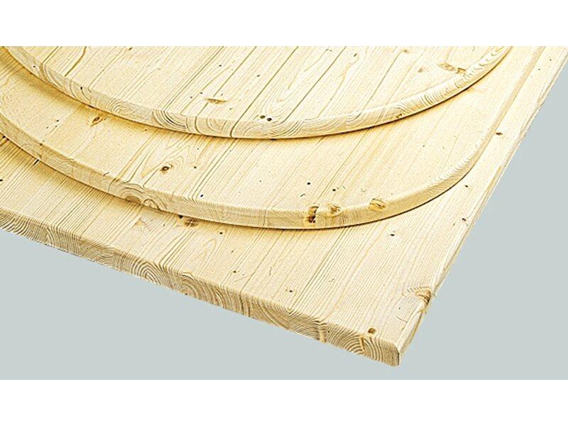 Einzigartig OBI Tischplatte Fichte 120 cm x 80 cm x 2,8 cm kaufen bei OBI FN33