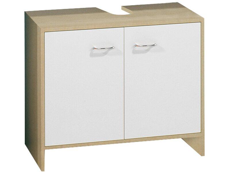 fackelmann beckenunterschrank t ren lilly birke weiss. Black Bedroom Furniture Sets. Home Design Ideas