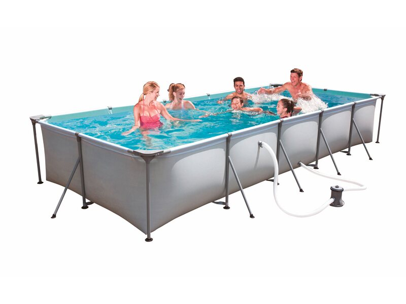 Bestway Family Splash Frame Pool Set 495 Cm X 211 Cm X 81