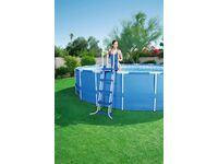 Schwimmbecken leiter 122 cm kaufen bei obi for Schwimmbecken obi