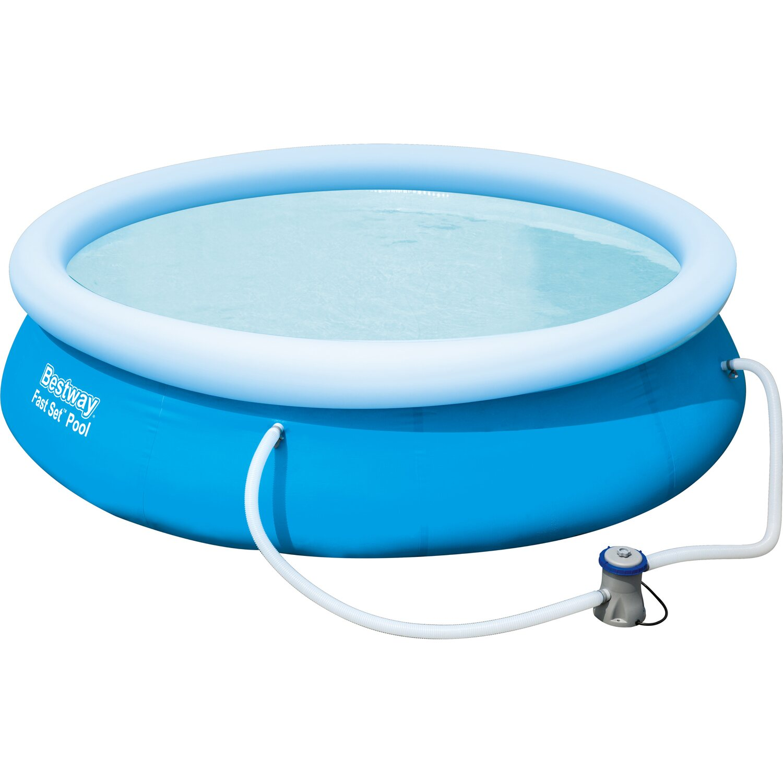 Bestway fast set pool 305 cm x 76 cm kaufen bei obi for Bestway obi