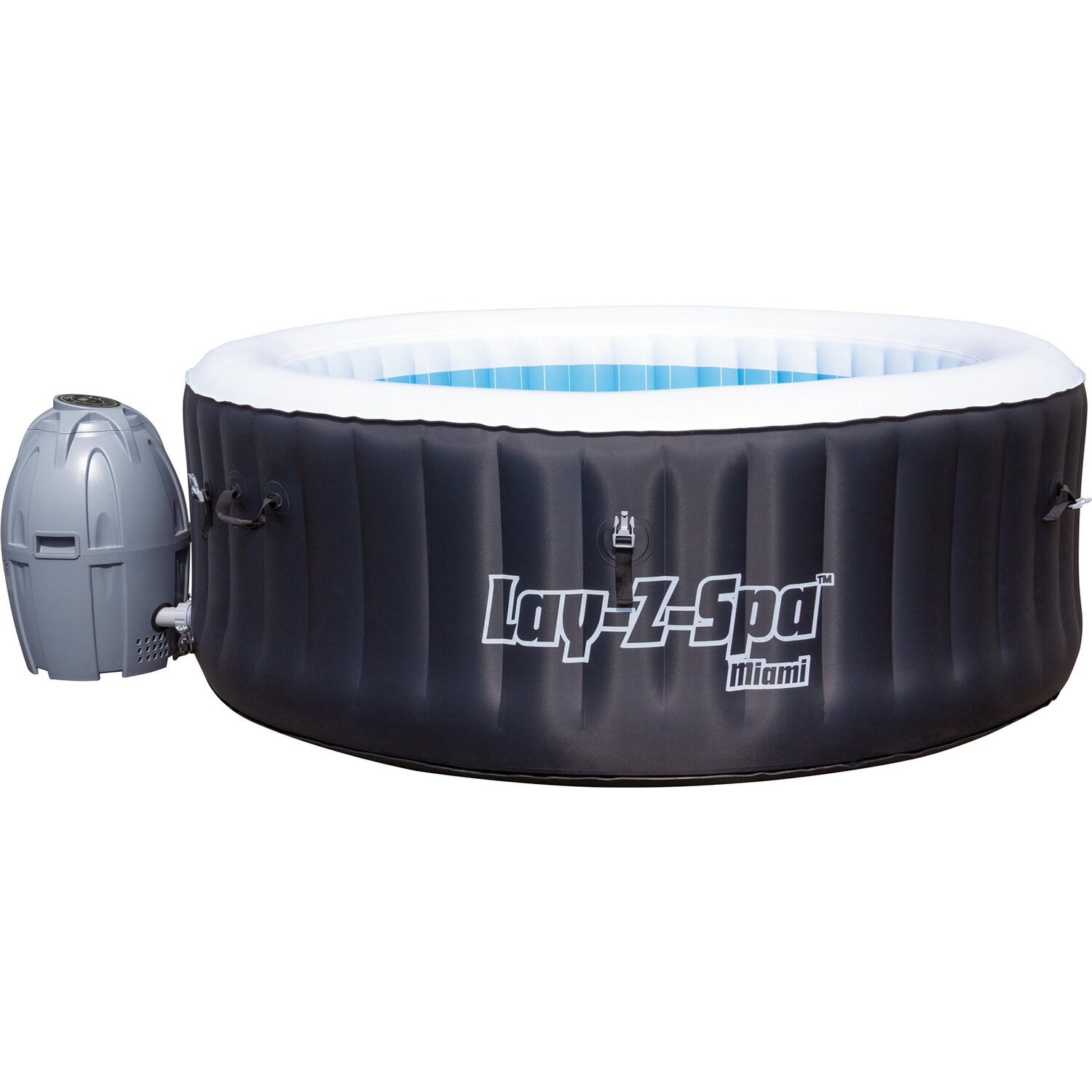 Bestway whirl pool lay z spa whirlpool miami kaufen bei obi for Bestway pool obi