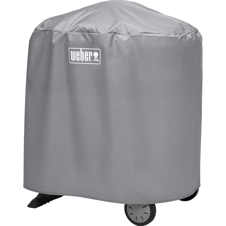 weber abdeckhaube f r q serie rollwagen stand kaufen bei obi. Black Bedroom Furniture Sets. Home Design Ideas