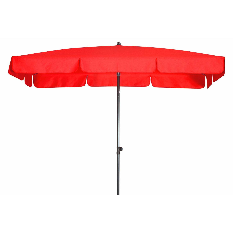 doppler sonnenschirm sunline iii waterproof rechteckig 185 cm x 120 cm rot kaufen bei obi. Black Bedroom Furniture Sets. Home Design Ideas