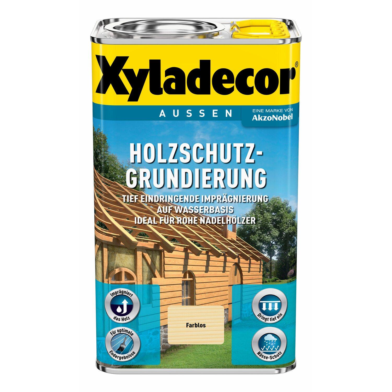 Xyladecor Holzschutz-Grundierung Transparent 750 Ml Kaufen
