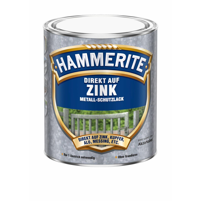hammerite direkt auf zink metall schutzlack reinweiss 750. Black Bedroom Furniture Sets. Home Design Ideas