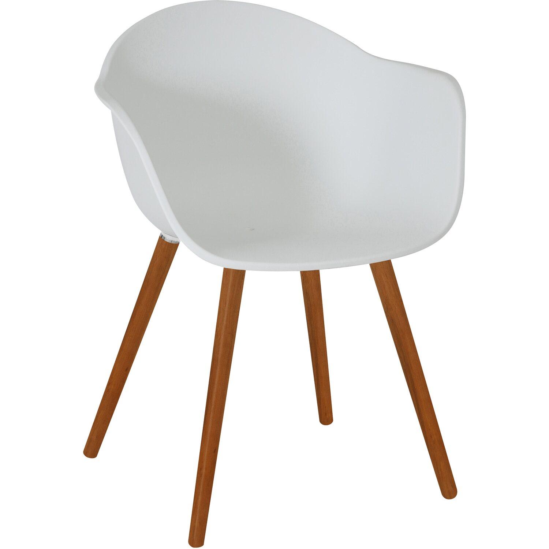 Greemotion Design-Gartenstuhl Derby Kunststoff Weiss ...