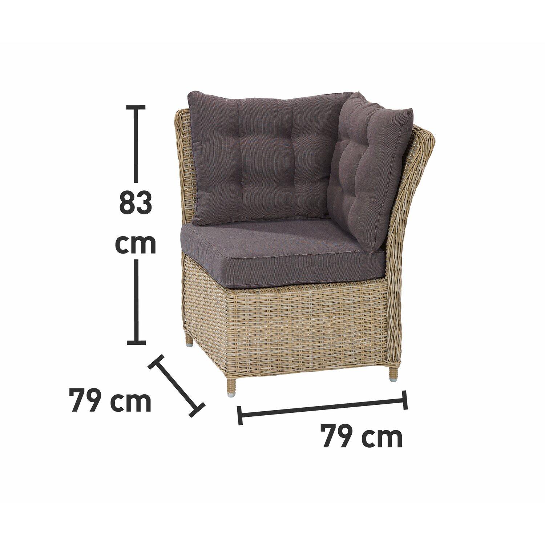 OBI Esstisch-Lounge-Gruppe Madison 4-tlg. kaufen bei OBI