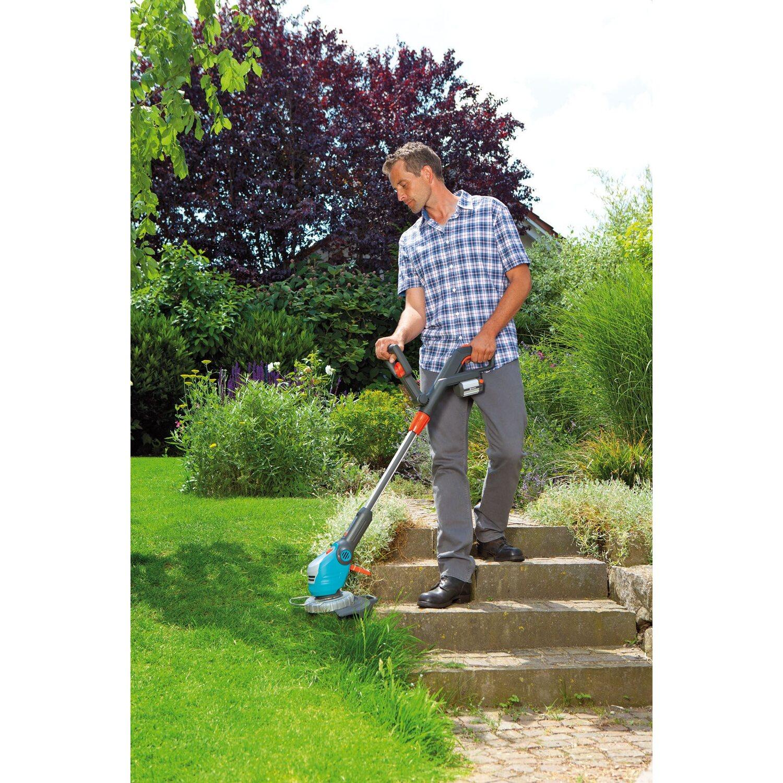 gardena akku rasentrimmer comfort cut li 18 23ro kaufen bei obi. Black Bedroom Furniture Sets. Home Design Ideas