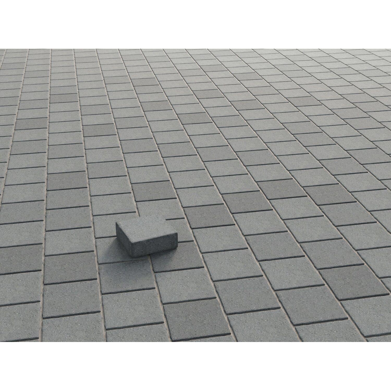 Granit Pflastersteine Obi pflaster beton etrusco anthrazit nuanciert gekollert 14 cm x 14 cm x