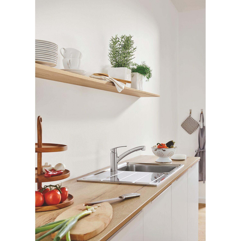 Grohe Einhand-Küchenarmatur Start Herausziehbar Supersteel kaufen ...