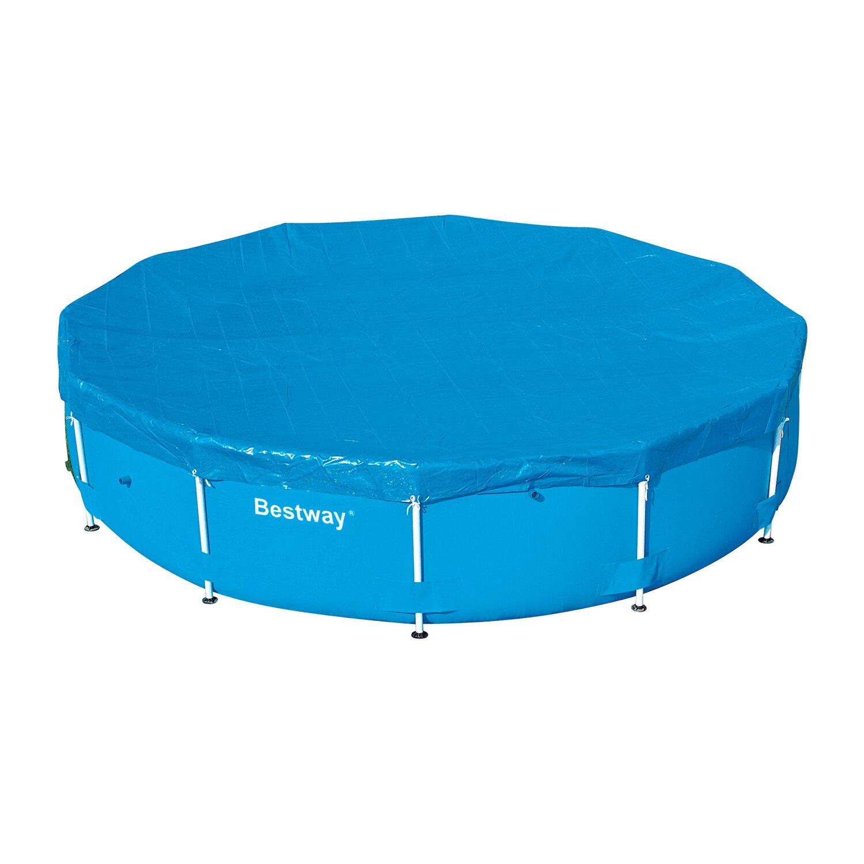 Pool abdeckplane f r 366 cm stahlrahmen pools kaufen bei obi for Abdeckplane obi