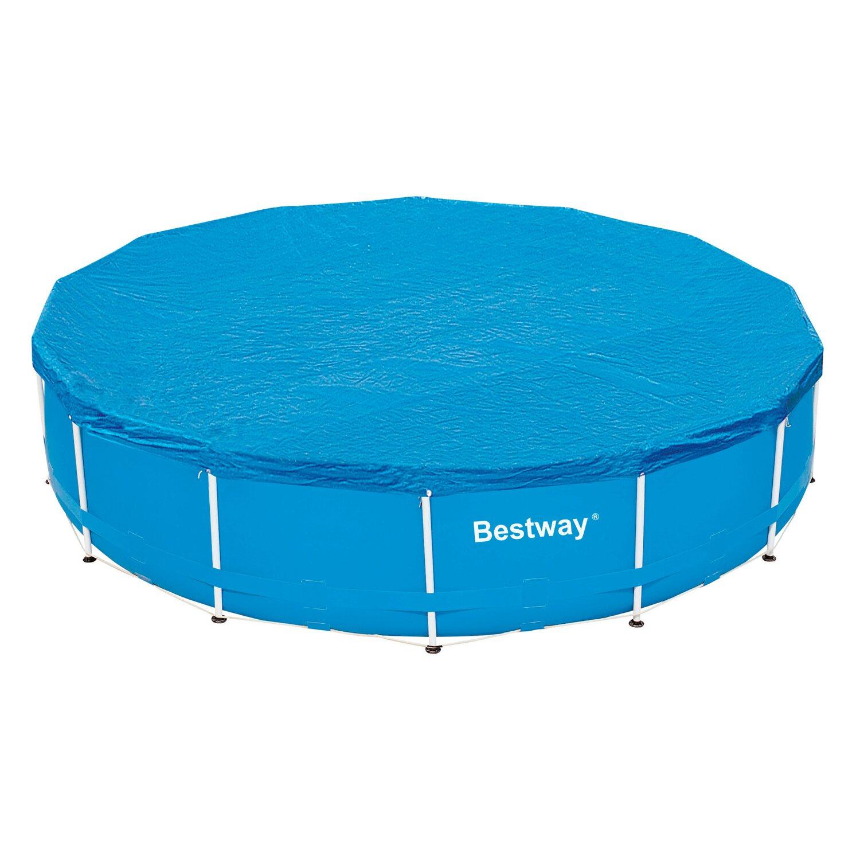 Pool abdeckplane f r 457 cm stahlrahmen pools kaufen bei obi for Abdeckplane obi