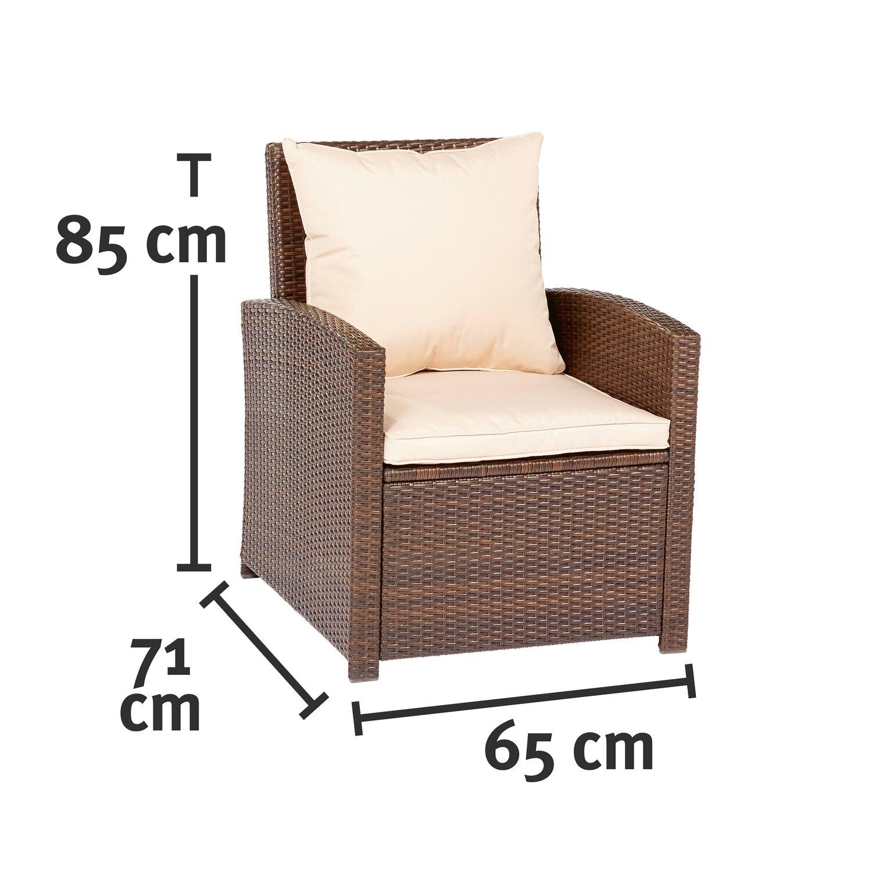 CMI Esstisch-Lounge-Gruppe 4-teilig kaufen bei OBI